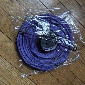 Light paper lantern Bats Purple
